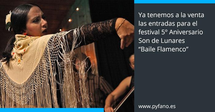Ya a la venta las entradas para el festival de flamenco